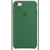 Чехол Silicone Case iPhone 6 Plus/6s Plus (темно-зеленый)