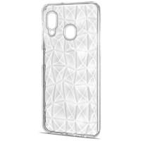 Чехол Samsung A40 Prism (White)
