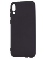Чехол Soft Touch Samsung Galaxy M10 (чeрный)