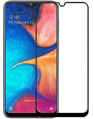 Скло матове Samsung A50/A30s (9D Black) 0.39mm