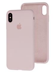Чохол Silicone Case iPhone Xs Max (бежевий)