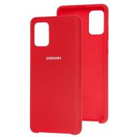 Чехол Silky Samsung Galaxy A51 (красный)