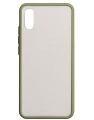 Чехол LikGus Maxshield матовый Xiaomi Redmi 9a (зеленый)