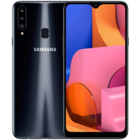 Samsung A207F Galaxy A20s 2019 3/32Gb (Black) EU - Официальный