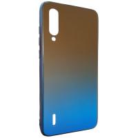 Чехол Glass Case Gradient Xiaomi Mi A3 (Blue Abyss)
