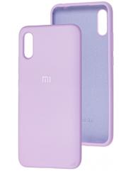 Чехол Silicone Case Xiaomi Redmi 9a (лавандовый)