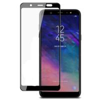 Стекло для Samsung  A6 2018 ( 5D Black)