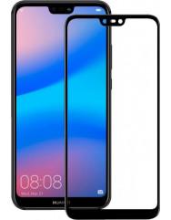 Захисне скло Huawei P20 Lite 3d 0.33mm (Black) 2018