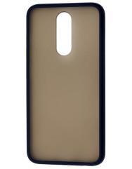 Чехол LikGus Maxshield матовый Xiaomi Redmi 8 (черный)