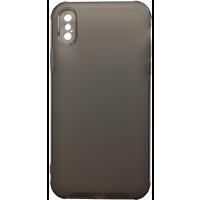 Чехол усиленный матовый iPhone X/XS (серый)