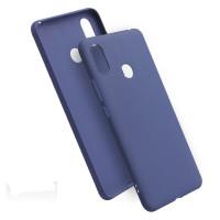 Чехол Soft Touch Xiaomi Redmi 7 (синий)