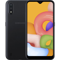 Samsung A015F Galaxy A01 2/16Gb (Black) EU - Официальный