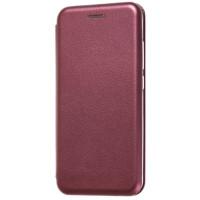 Книга Premium Xiaomi Redmi 8a (бордовый)