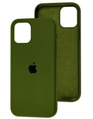 Чохол Silicone Case Iphone 12 /12 Pro (хакі)