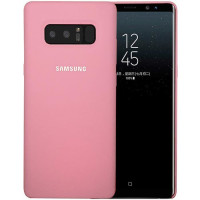 Чехол Silicone Case Samsung Galaxy Note 8 (розовый)
