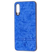 Чехол Velvet Samsung A70 (синий)