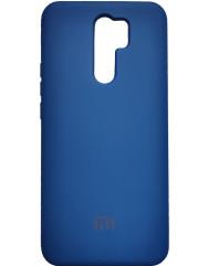 Чохол Silicone Case Xiaomi Redmi 9 (синій)