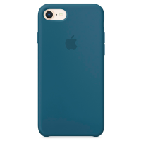 Чехол Silicone Case iPhone 7/8 (синий)