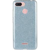 Силиконовый чехол Shine Xiaomi Redmi 6 (голубой)