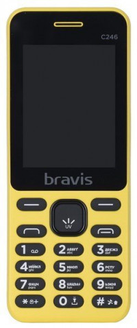 Bravis C246 Fruit Dual Sim (Yellow)