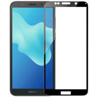 Стекло Huawei Y6-2018 (5D Black)