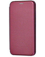 Книга Premium Samsung Galaxy A01 Core (бордовый)