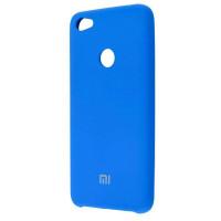 Чехол Silicone Case Xiaomi Redmi Note 5A (синий)