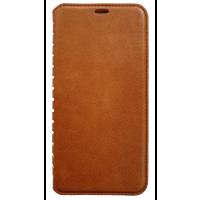 Книга VIP Samsung A50 / A50s / A30s (коричневый)