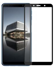 Стекло Samsung A750F Galaxy A7 (5D Black)