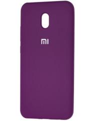 Чохол Silicone Case Xiaomi Redmi 8a (бузковий)