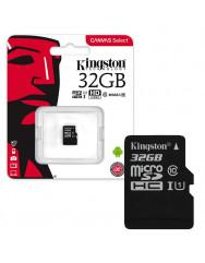 Карта памяти Kingston micro SD 32gb (10cl)