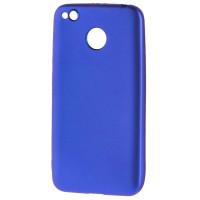 Силиконовый чехол SoftTouch Xiaomi Redmi 4x (синий)