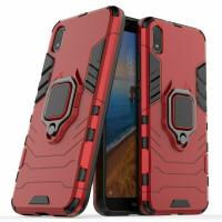 Чехол Armor + подставка Xiaomi Redmi 7a (красный)