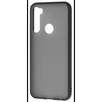 Чехол LikGus Maxshield матовый Xiaomi Redmi Note 8 (черный)