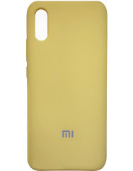 Чехол Silky Xiaomi Redmi 9a (желтый)
