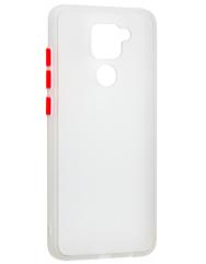 Чохол LikGus Maxshield матовий Xiaomi Redmi Note 9 (білий)