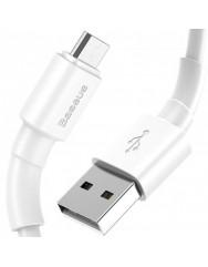 Кабель Baseus Mini Micro USB (білий) 1m