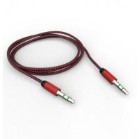 AUX кабель 3.5mm (красный)