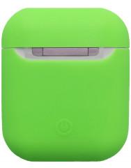 Чохол для Airpods силіконовий (зелений)