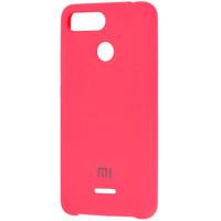 Чехол Silky Xiaomi Redmi 6a (ярко-розовый)