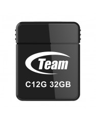 Флешка USB Team C12G 32GB USB 2.0 (Black)