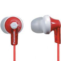 Вакуумные наушники Panasonic RP-HJE118GU-R (красный)