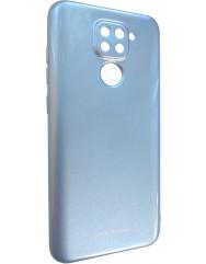 Чохол Molan Xiaomi Redmi Note 9 (блакитний)
