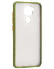Чохол LikGus Maxshield матовий Xiaomi Redmi Note 9 (зелений)