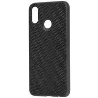 Чехол Premium Carbon Huawei P Smart Plus (черный)