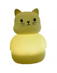 Силиконовая светодиодная лампа Colorful Silicone Cat