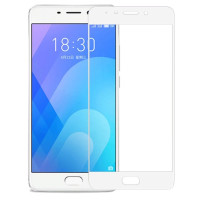 Защитное стекло Meizu M6 (3D White) 0.33mm