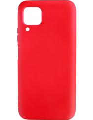Чохол Silicone Case Lite для Huawei P40 Lite (червоний)