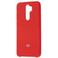Чехол Silky Xiaomi Redmi Note 8 Pro (красный)