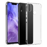 Чехол усиленный для Huawei P Smart + (прозрачный)